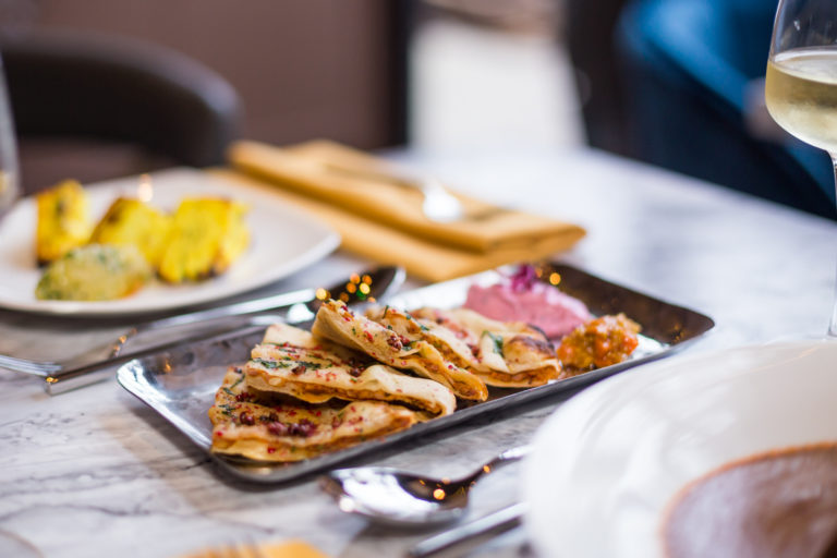 Contemporary indian restaurant